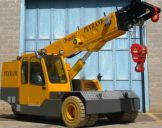 Grua GF 250 25 Ton Hibrida Diesel/Eléctrica