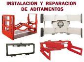 Instalación y Reparación de aditamentos